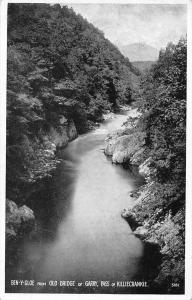 Ben-y-Gloe from Old Bridge of Garry, Pass of Killiecrankie