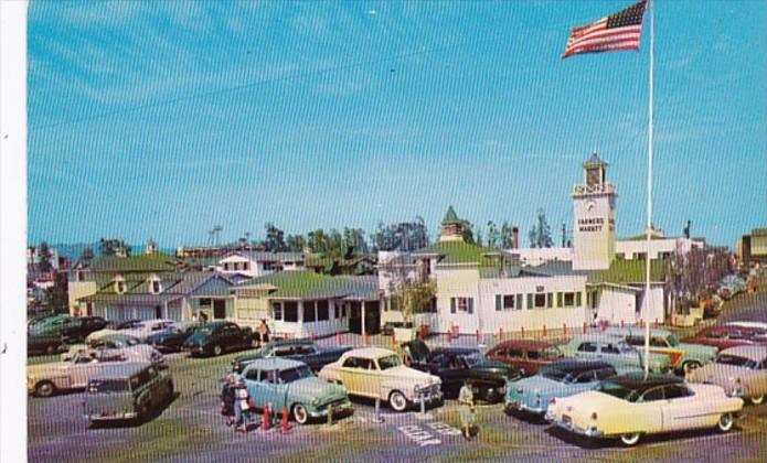 California Los Angeles Farmers Market 1961