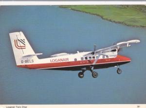 Loganair Twin Otter in Flight