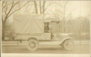 New York City Women's Suffrage Org Buying Ambulances WWI Voting Rights RPPC
