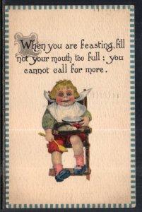 When You Are Feasting…. Boy Cmic BIN