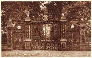 England Sandringham, The Norwich Gates, Entrance Photo Brown