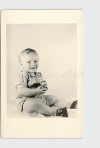 RPPC REAL PHOTO POSTCARD MISSOURI SARCOXIE WHEELOCK'S STUDIO BABY PORTRAIT