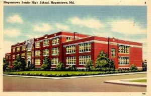 Hagerstown, Maryland - The Hagerstown Senior High School - c1940