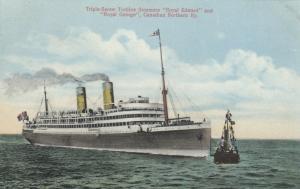 Triple-Screw Turbine Steamers Royal Edward and Royal George, 00-10s; Canadia
