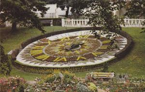 Floral Calendar Clock, Riverside Park, Guelph, Ontario, Canada,  40-60s