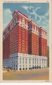 Pennsylvania Pittsburg William Penn Hotel 1939