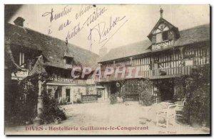 Old Postcard Dives William the Conqueror Hostellerie
