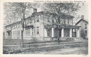 Conservatory of Music , Westminster College, NEW WILMINGTON, Pennsylvania , 1...