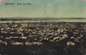 Bird's eye view, Montreal, Quebec, Canada, PU-1914