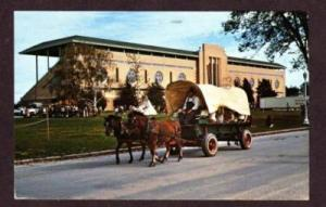 IL Southern Illinois Folk Festival Wagon Ride DU QUOIN