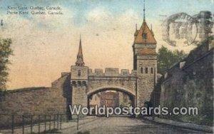 Kent Gate, Porte Kent Quebec Canada Postal Used Unknown, Missing Stamp