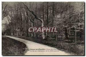 Chateau de la Placelière - Foyer des Invalides - Old Postcard