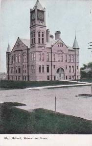 High School, MUSCATINE, Iowa, 00-10s