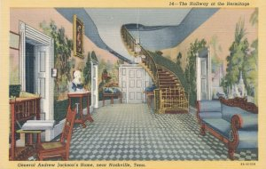 Nashville TN, Tennessee - Hallway at the Hermitage - Andrew Jackson Home - Linen