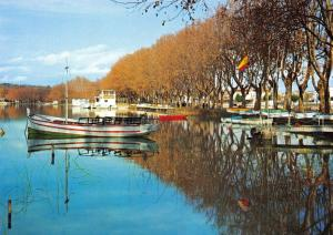 Gerona Spain Postcard, Banyoles, The Lake R74