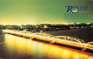Postcard The Royal River Hotel, Bangkok, Thailand B91