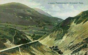 Penmaenmawr Sychant Pass Road Landscape Postcard