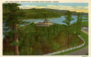 OR - Columbia River Highway. Vista House, Crown Point