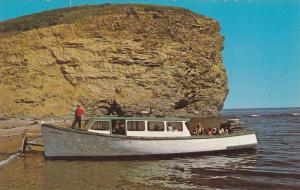 Tour Boat on Excursion to the Bird Sanctuary, Perce, Quebec, Canada, 40-60´s