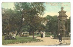 King Square From Head Of King Street, St. John, New Brunswick, Canada, 1900-1...