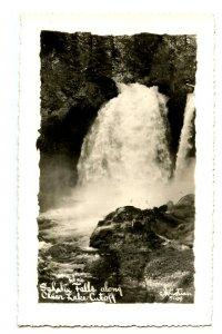 OR - Sahalie Falls (McKenzie River) along Clear Lake Cutoff   *RPPC