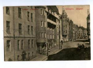 173938 FINLAND HELSINKI Luotsikatu Vintage postcard