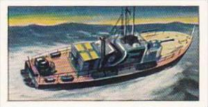 Amaran Tea Trade Card 20th Century Science No 2 Jet-Propelled Speed Boat