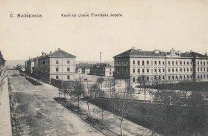 C. Budejovice , Czech Republic , 00-10s ; Kasarna cisare Frantiska Josefa