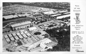 1940s Los Angeles California Grounds County Fair Birdseye Frasher RPPC 8832