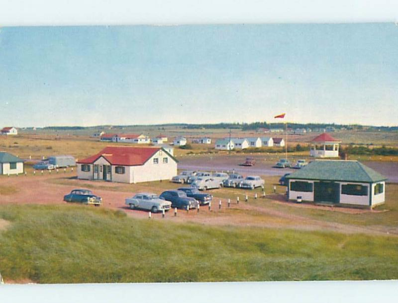 1950's PARKING LOT Cavendish - Near North Rustico & New Glasgow PE F9167