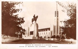 Lot123 statue mounsinho cathedral Maputo Lourenco Marques Mozambique real photo