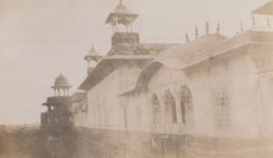 Agra Port Uttar Pradesh Rakabganj India Antique Real Photo Postcard