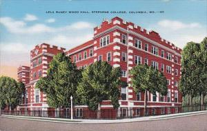 Missouri Columbia Lela Raney Wood Hall Stephens College 1944