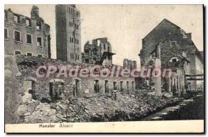 Old Postcard Munster Alsace