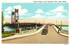 Maine Bath , Carlton Bridge