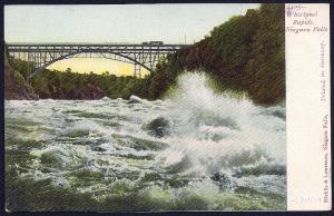 Whirlpool Rapids Niagara Falls New York unused c1905
