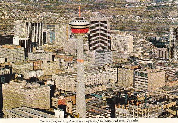 Canada Downtown Skyline Calgary Alberta
