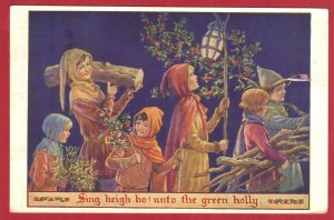SING HEIGH HO! UNTO THE GREEN HOLLY   SEE SCAN