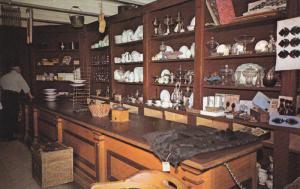 Interior of Crysler General Store, Upper Canada Village near MORRISBURG, Onta...