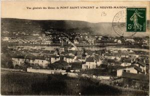 CPA  Pont-Saint-Vincent  - Vue Generale des Usines et Neuves-Maisons  (483908)