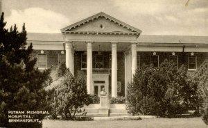 VT - Bennington. Putnam Memorial Hospital