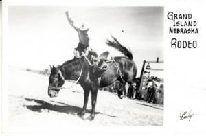 Grand Island Nebraska Rodeo 1947