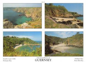 Guernsey Postcard Channel Islands Multi View by D.R Photography Ltd P16