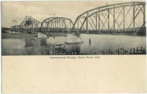 D/B International Bridge Rainy River Ontario ON