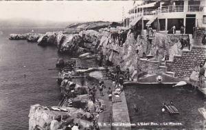 France Cap d'Antibes L'Eden Roc La Piscine 1953 Photo