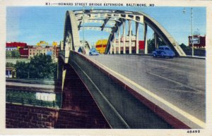 [ Linen ] US Maryland Baltimore - Howard Street Bridge Extension