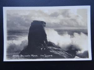 Cornwall BUMBLE ROCK The Lizard c1930's RP Postcard by Hawke