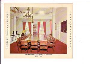 Confederation Chamber,   Charlottetown Prince Edward Island, Canada, Interior