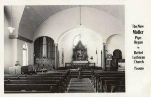 RP: FRESNO , California , 1940s ; Bethel Lutheran Church Pipe Organ
